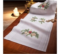 Candle 40x100cm Printed Table Runner