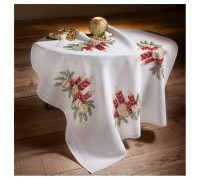 Candle 80x80cm Printed Tablecloth