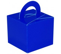 Balloon/Gift Box Blue x 10pcs