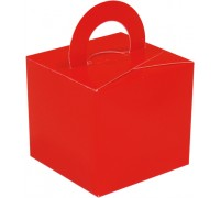 Balloon/Gift Box Red x 10pcs