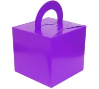 Balloon/Gift Box Purple x 10pcs
