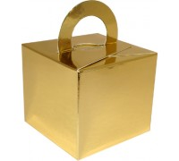 Balloon/Gift Box Gold x 10pcs