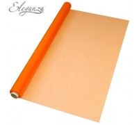 Eleganza Sheer Organza 70cm x 10m No.04 Orange