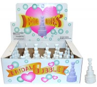 Wedding Cake Bubbles Box of 24pcs