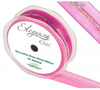 Eleganza Chic 25mm x 10m Fuchsia No.28