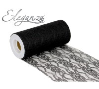 Lace Netting 6 x 10m No.20 Black