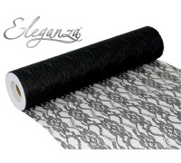 Lace Netting 12 x 10m No.20 Black