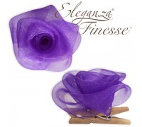 Eleganza Finesse Clip Roses Purple No.36 (Pack of 4)
