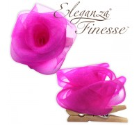 Eleganza Finesse Clip Roses Fuchsia No.28 (Pack of 4)