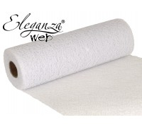 Eleganza Web Fabric roll 28cm x 10m White No.01