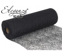 Eleganza Web Fabric roll 28cm x 10m Black No.20