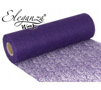 Eleganza Web Fabric roll 28cm x 10m Purple No.36