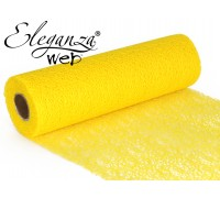 Eleganza Web Fabric roll 28cm x 10m Yellow No.11