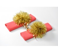 Pom Pom and Curling ribbon Wrapping Set