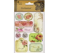 DESIGN 2 CHIPBOARD STICKER 2 SHEETS
