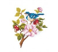 Blue Bird Diamond Painting Kit ALVR-02058