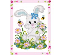 Bunny Diamond Painting Mini Kit ALVS-005