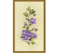 Bees Ribbon Embroidery Kit C-0913