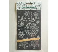 Christmas Wishes - Lace Transfers
