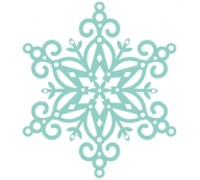 Fancy Snowflake Die