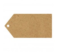 Eleganza Greeting Tags Plain (10pcs) 100mm x 50mm