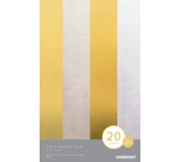 Gold and Silver Foil Paper Pad