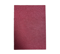Cherry Red Glitter Card