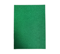 Dark Green Glitter Card