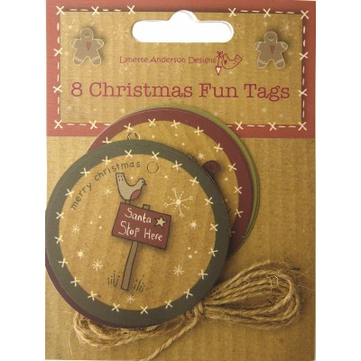 CHRISTMAS FUN TAGS 8