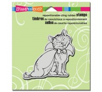 Cling Count Catula Rubber Stamp