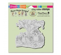 Cling Costume Play Rubber Stamp